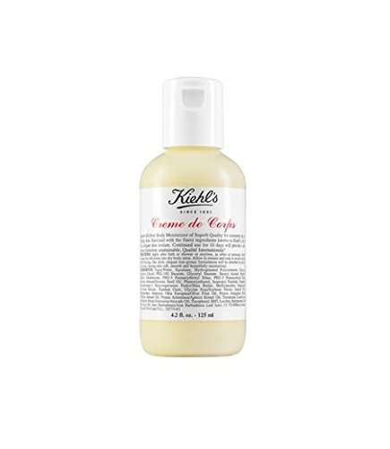 Kiehl's Creme de Corps Body Moisturizer - Small Size Bottle 4.2oz (125ml)