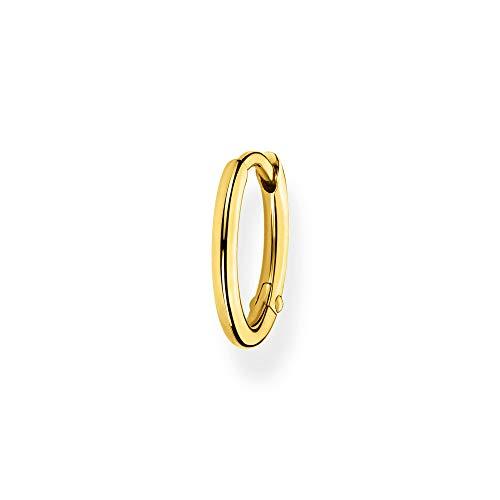 Thomas Sabo Damen Einzel Creole Classic gold, 925 Sterlingsilber, Clipverschluss