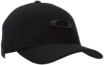 Oakley mens Tincan Cap Hat Black/Carbon Fiber Large-X-Large US