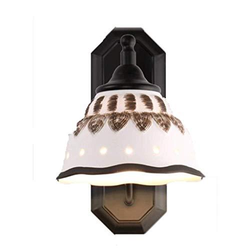 Vintage, retro, antiguo apertura y cierre oscuro jaula de alambre luz de la pared de la lámpara aplique fangkai77