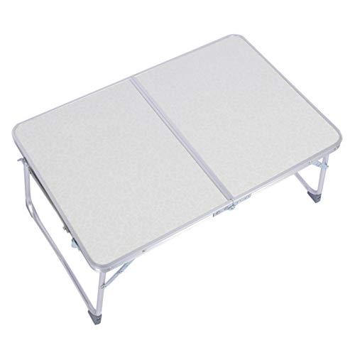 Dioche Escritorio para computadora portátil, Mesa de Cama Multifuncional Liviana con Mesa Plegable para Acampar para Acampar en casa