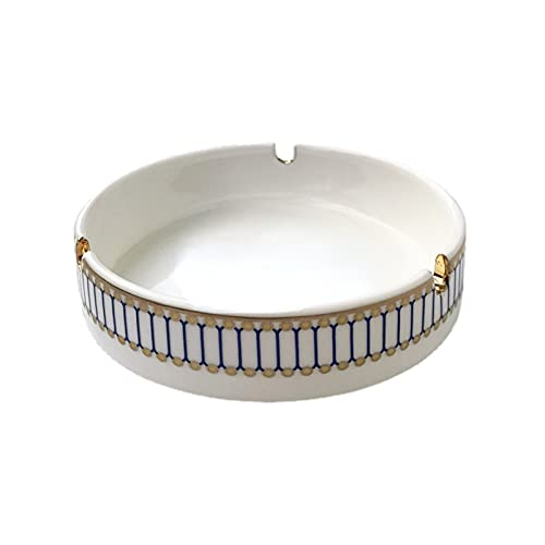 Cenicero de porcelana europea de lujo hogar fumar accesorios decorativos caballo cenicero pequeño mejor regalos para novio