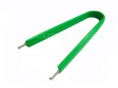 DAIKITOOLドットコム 汎用 DIP-IC 引き抜き工具 緑