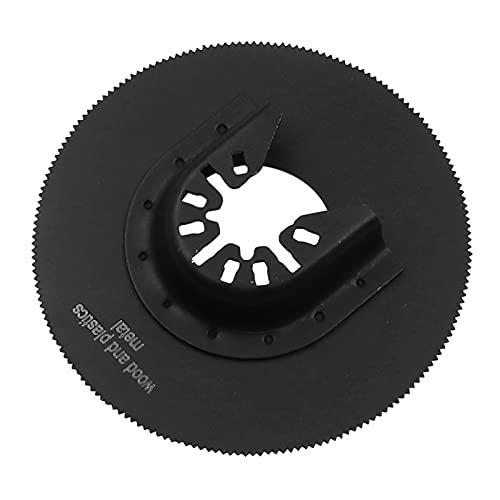 MagiDeal Disco de Corte Circular Completo Negro de Hoja de Sierra de Acero de Velocidad 80 Mm X 12,6 Mm