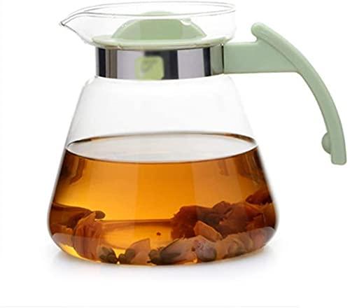 Tetera de cocina transparente con mango extraíble para estufa (800 ml, 1500 ml, 1500 ml, 1800 ml/65 onzas)