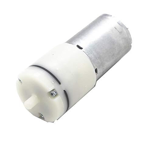 WNJ-TOOL, 1pc 6V Motor Micro-Vakuumpumpe Luftpumpe DC Kleine Mini 370 Motor Micro Luftpumpe Sauerstoffpumpe Aquarium DIY (Größe : 6V)