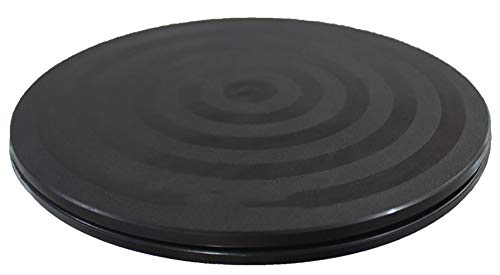 """Kydely mini bonsai turntable base stainless steel ball bearings 360-degree rotation easy pruning black 8"""" 1 easily prune your bonsai, great for dynamic bonsai displays. Stainless steel ball bearings, smooth 360-degree rotation. High-grip surface tread prevents slippage, usable inside or out."""