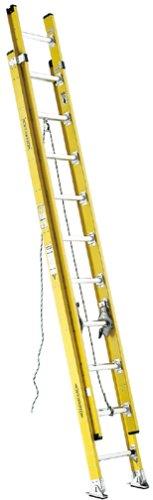 Werner D7128-2 375-Pound Duty Rating Fiberglass D-Rung Extension Ladder, 28-Foot