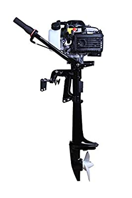LEADALLWAY 4HP Boat Motor Four Stroke Air-Cooled Superior Boat Engine 55cc Outboard Motor for Kayak Fishing Boat Canoe Offering After Sales Support from LEADALLWAY