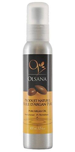 Huile d'Argan Olsana Premium 100% pure issue de l'agriculture biologique-100ml