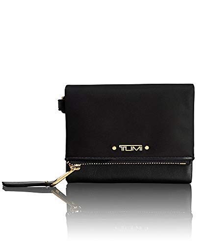 TUMI - Voyageur Flap Card Holder Case - Compact Wallet for Women - Black