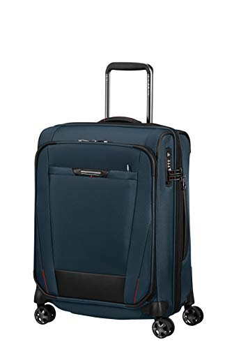 SAMSONITE Pro-DLX5 - kleine expandable spinner koffer, 55 cm, 51,5 liter, Oxford Blue