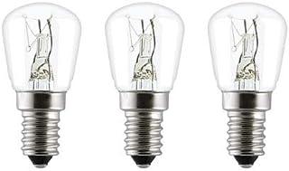 Three warm bulbs for himalayan salt lamps - E14 15W