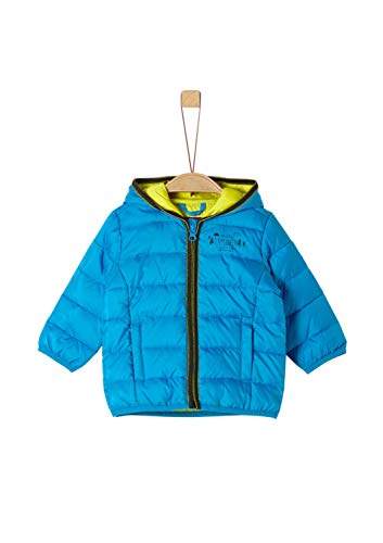 s.Oliver Baby-Jungen 59.908.51.5105 Jacke, Türkis (Turquoise 6290), (Herstellergröße: 86)
