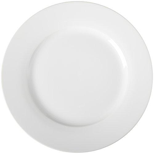 AmazonBasics - Juego de 6 platos llanos
