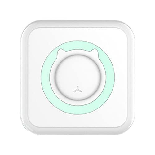 Ronyme Impressora de Bolso Mini-Portátil Bluetooth Da Impressora Térmica Da Impressora de Bolso Compatível com iOS/Android para a Organização de Documentos - Verde