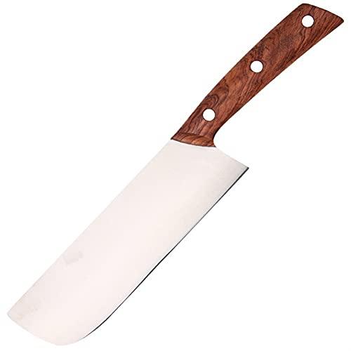 Cuchillo de cocina, cuchillo de chef - Cuchillo de chefs profesionales - Alemán de acero inoxidable de alto carbono - Cuchillo de cocina ultra afilado de estilo japonés - Mango ergonómico
