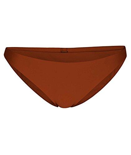 Hurley Damen Quick Dry Compression Solid Bikini Surf Bottom Bikinihose, Dunkelbraun (Russet), Large