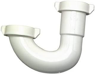 MP Plumb Shop Div Brasscraft 480-178 Lavatory/Kitchen Drain Bend, White Plastic, 1-1/4-In. or 1-1/2-In. - Quantity 10