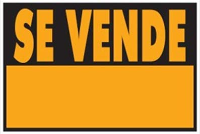 "Wurko - Cartel""Se Vende"" 29,7 x 21 cm"