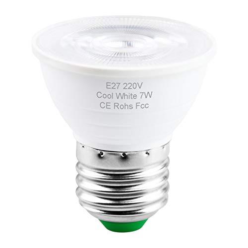 Bombillas para el hogar y los productos comerciale Spotlight Bombilla LED GU10 LED 5W E14 LED Light 220V Spotlight MR16 7W Lampada GU5.3 bulbo del maíz Gu 10 Ampolla 2835 (Color : Warm White)