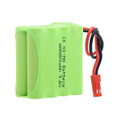 softpoint Grupo Recargable De La Batería Nimh De 9.6v 800mah 8 * AAA, con El Conector JST-2P