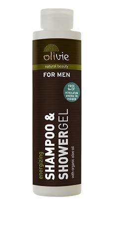 Shampooing et Shοwer Gel 2 En 1 pour Homme, 200 ml