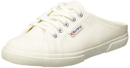 Superga 2288-Vcotw Sandali punta chiusa Donna, Bianco (White 901) 36 EU