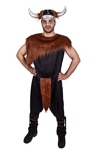 Costumizate! Disfraz de Vikingo Adulto Especial para Fiestas de Disfraces y Carnaval Talla Unica