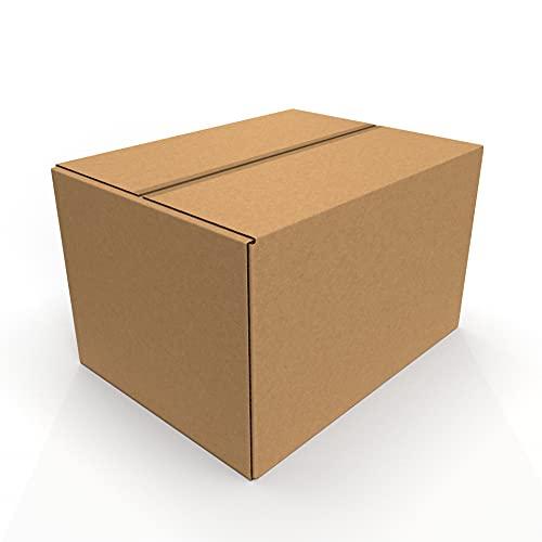 scatole per armadio 60x50 IMBALLAGGI 2000 - Scatoloni 80x60x50 cm - 10 Pezzi - Scatola di Cartone a Doppia Onda - Imballaggi per Spedizione e Trasloco