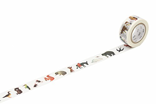 Mt nastro adesivo mt Alain Gree'Animal' Washi Masking Tape