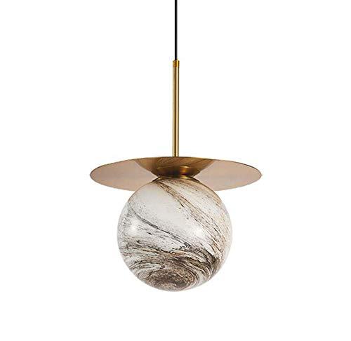 Nordic kroonluchter kleuterschool plafondlamp glas jupiter hanglamp verlichting kinderkamer droplight enkele kop bar/restaurant lamp, 110 V-220 V, Jupiter