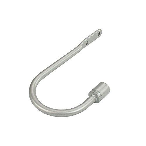 Liedeco Service–Stange aus Metall für Duschvorhang (1Stück, 16mm) für Duschvorhang