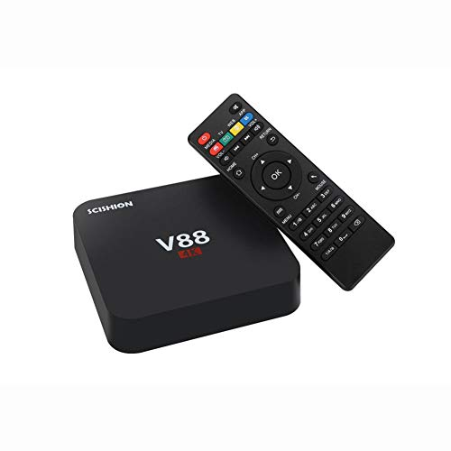 HCDMRE V88 4K Android 7,1 Smart TV Box Rockchip 3229 Quad Core 1G RAM 8GB ROM HD 1080P WiFi Media