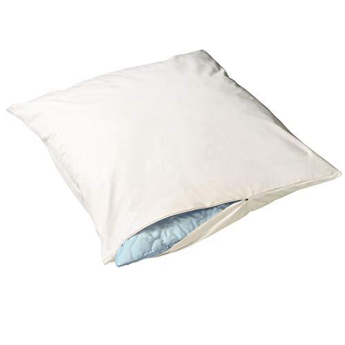 Softsan Extraweich Allergiker Kissenbezug 80x80 cm, Anti Milben Encasing für Kopfkissen, Milbenschutz für Hausstauballergiker