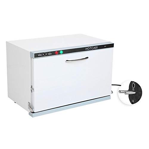 23L 2 en 1 Esterilizador de Toalla Gabinete de Esterilización de Toallas por Alta Temperatura y UV uso Caja de Desinfección para Centros Estéticos Accesorios para el Hotel Beauty Salon(220V)