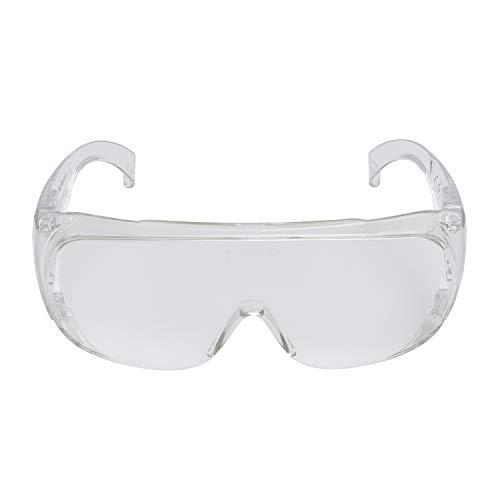 3M xA004837861 Sobreanteojos de Seguridad Transparentes para Protección contra Impactos para Visitas Vs-160 C1