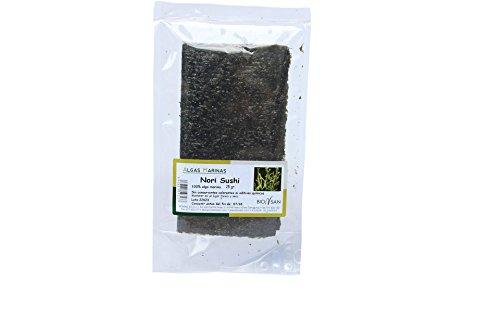 Biosan Alga Nori Sushi | Ecológica | 2 Bolsas 25 gr | Total 50 gr