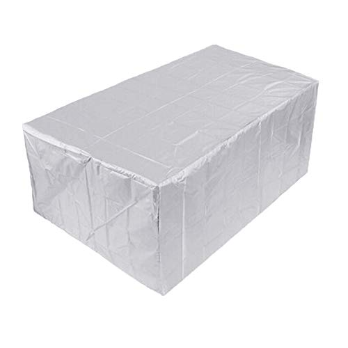 GAOQIANGFENG Patio Furniture Covers, Waterproof Patio Furniture Cover Oxford Fabric Rectangular Cover, Windproof and Anti-UV, for Indoor or Outdoor Furniture