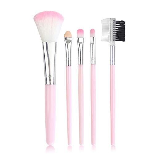 Maquillage outils professionnels ensemble de maquillage brosse 5 bâtons blush brosse peigne pour cils brosse ombre à paupières, B