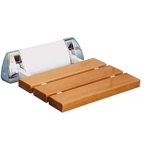 RJFAB Thuis Bad kruk houten badkamer anti-slip bank oude man bad stoel bad stoel gehandicapte leuning anti-slip douchestoel/zwangere vrouw bad kruk sterke draagvermogen
