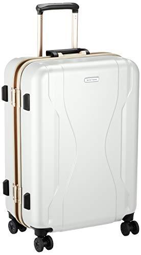 [ワールドトラベラー] スーツケース 日本製 コヴァーラム ベアリング入り双輪キャスター 58L 58 cm 4.6kg ホワイト