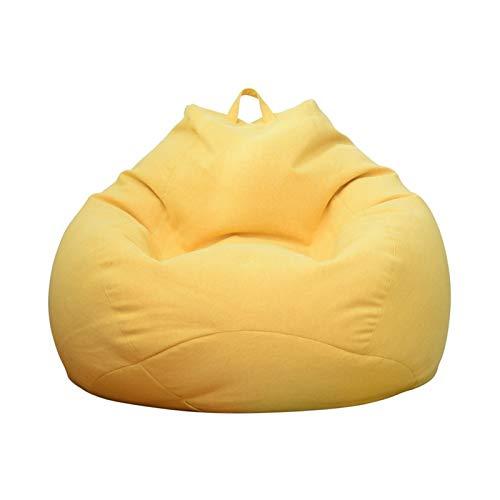 Bean Bag Gamer Arm Chair Adult Gaming Bean Bag Spiel Sitztaschen Haus Oder Im Garten Bean Bag Outdoor Sitzsäcke (Color : Light pink, Size : 60 * 70cm)