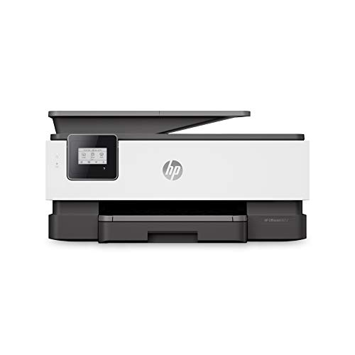HP OfficeJet 8012 Multifunktionsdrucker (HP Instant Ink, A4, Drucker, Scanner, Kopierer, WLAN, Duplex, HP ePrint, Airprint, mit 6 Probemonaten HP Instant Ink Inklusive) basalt
