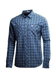 Lundhags jaksa T-Shirt à Manches Longues Regular (Steel Blue) (M)
