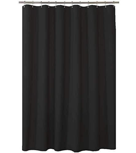 AmazerBath Plastic Shower Curtain, 72 x 72 Inches EVA 8G...