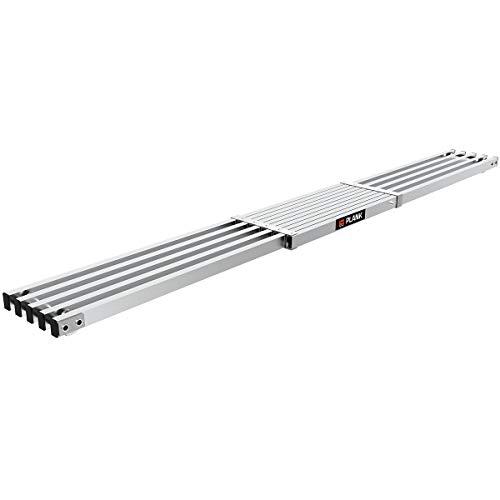 Little Giant Ladders, 6-9 ft. Telescoping Plank, Ladder Accessory, Aluminum, (10069)