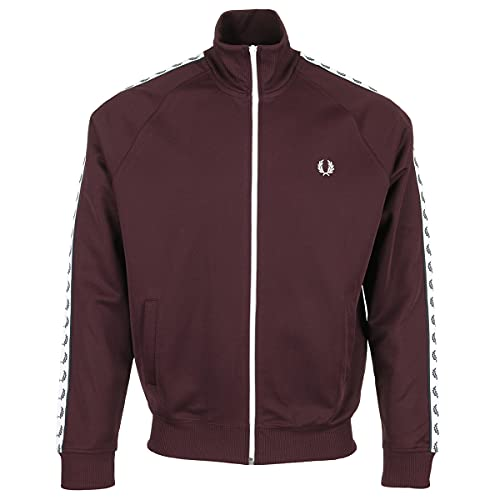 Fred Perry Taped Track - Chaqueta deportiva rojo S