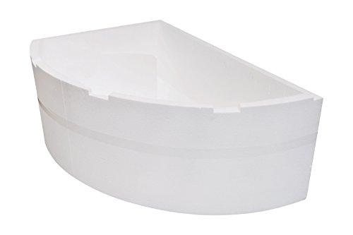 'aquaSu® Wannenträger zur Acryl-Eckbadewanne Cejlon 150 x 100 cm (82482 8) Rechte Ausführung
