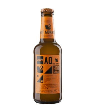 24 Flaschen a 0,23L Hot Ginger Ingwer Monaco Aquamonaco Premium Getränk